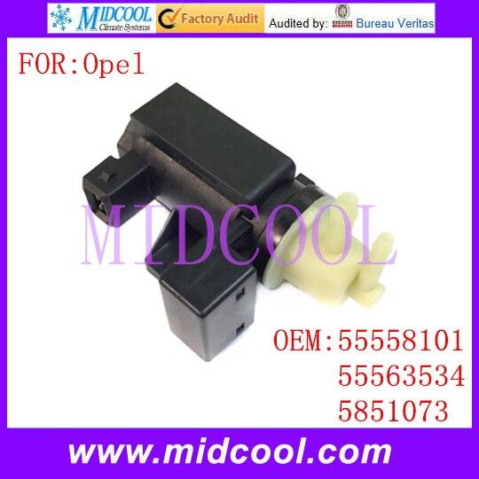 New Vacuum Pressure Converter Solenoid Valve Use OE NO. 55558101 55563534 5851073 For Opel