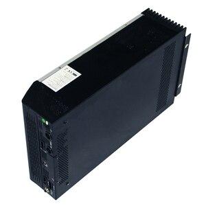 Image 5 - Гибридный инвертор немодулированного синусоидального сигнала 5KVA 48V 220V Встроенный MPPT 60A PV Контроллер заряда и зарядное устройство переменного тока для домашнего использования
