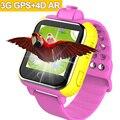 GPS smart watch for kids children 3G Touch screen AR learning card SIM Wifi Finder Locator Tracker SmartWatch pk q50 q90 q60 q80