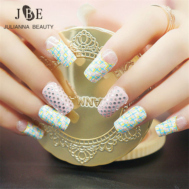 Jeweled Nails Art Sticker Elegant Design Nail Sticker 3D Shining ...
