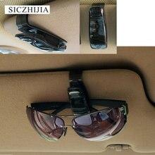 Heißer auto sonnenblende brille sonnenbrille empfang karte halter für Geely Vision SC7 MK CK Kreuz Gleagle SC7 Englon SC3 SC5