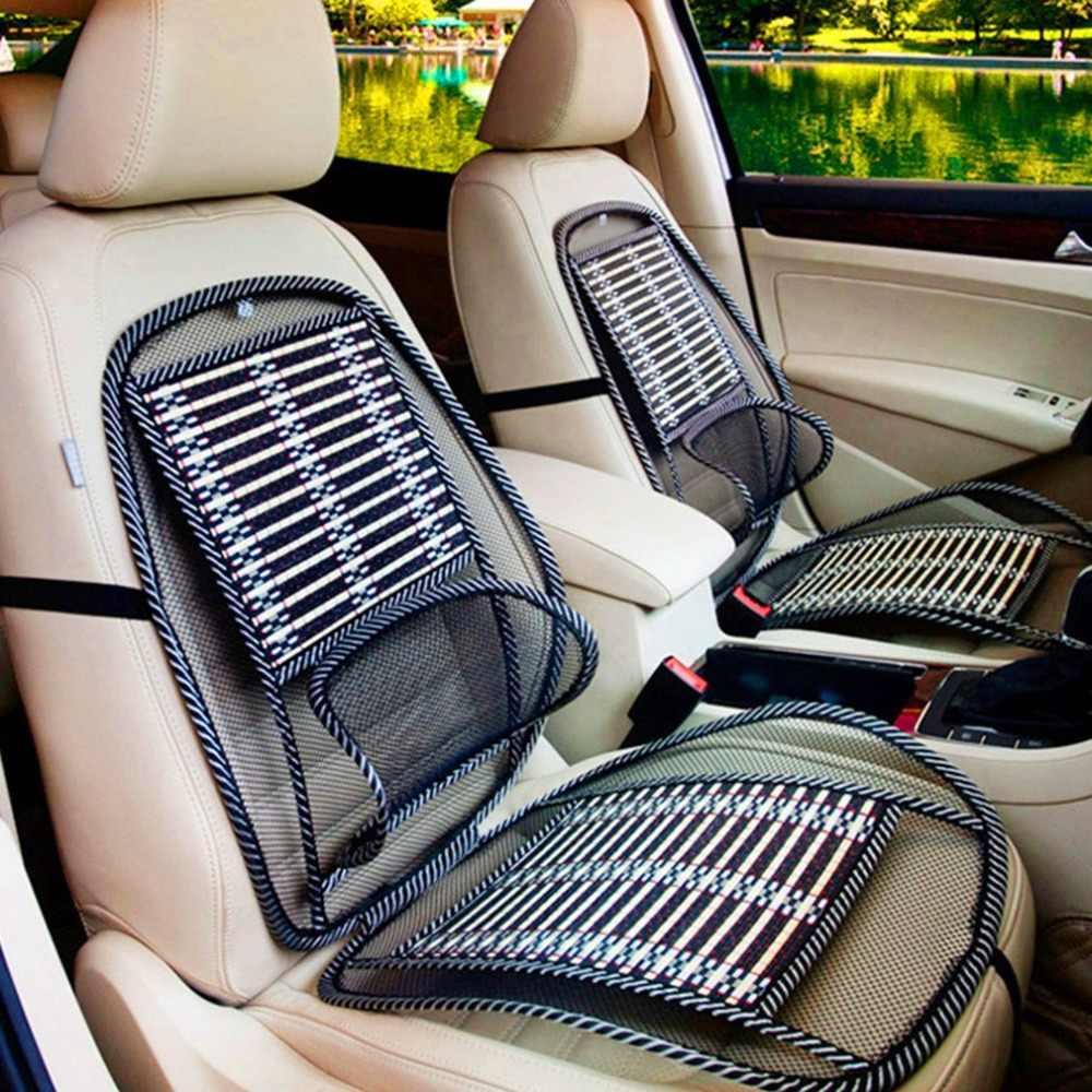 NewSummer Cooling Lumbale Universele Massage Kussen Ademend Kussen Auto Draad Zitkussen Cool Pad Auto Levert Hot