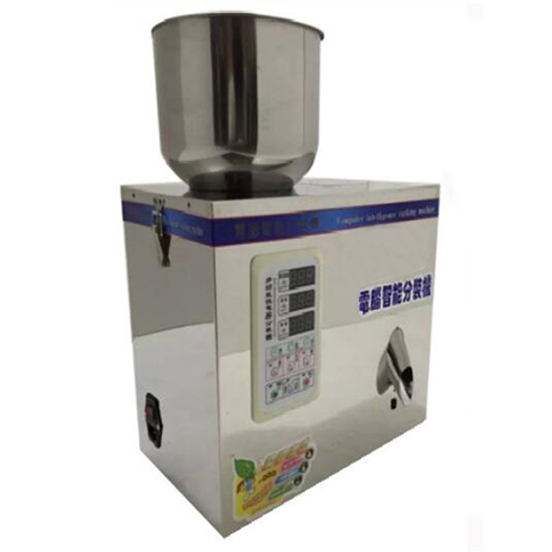 Automatic powder filling machine Particle Subpackage Device Weighing and Filling Machine 0-25g 110V/220V small automatic cnc liquid filling machine drinks milk quantitative filling sub loading weighing filling machine csy 18129