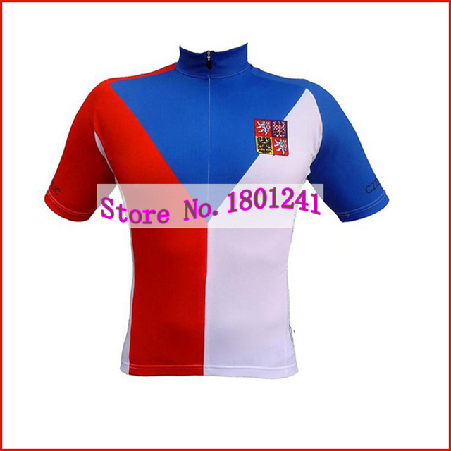 HOT 2016 cycling jersey Czech Republic National team bike clothing bicycle  wear gel maillot ropa ciclismo nowgonow dd0f41550