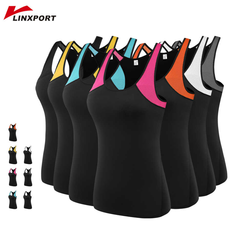 Female Sport Tops Sleeveless Yoga Shirt Exercise Workout Sports T-Shirts Women Running Singlets Sexy Gym Clothing Running Tights