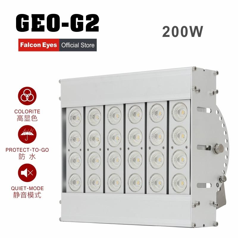 Falcon Eyes 200W velikan profesionalni LED fotografia Studio svetlobe - Kamera in foto - Fotografija 1