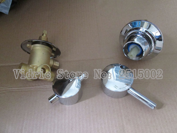 Shower room mixing valve bathtub faucet water separator, Customized 2/3/4/5 gears screw thread/intubation style split valve tapShower room mixing valve bathtub faucet water separator, Customized 2/3/4/5 gears screw thread/intubation style split valve tap
