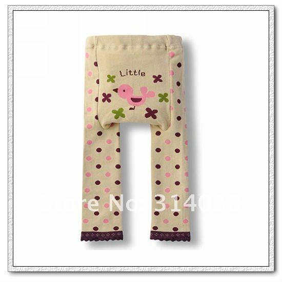 Рекламные скидка 30% теперь ребенок Животные хлопковые брюки Младенцы полосой мультфильм Детские Большие PP Брюки для девочек