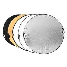 HFE 110 cm 5 en 1 Estudio Fotografía Luz Reflector Plegable Portátil