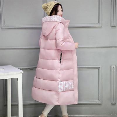 2016 Winter new women cotton coat Women Plus Size 2XL Long section Parka Casual Cotton-Padded Down Coats thick warm cotton coat