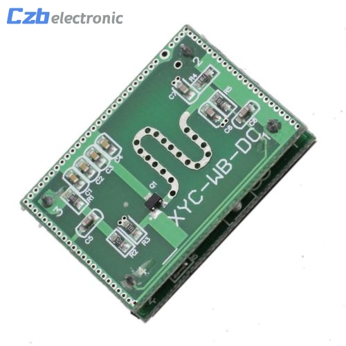 Strong Anti-jamming! 5.8GHZ Microwave Radar Sensor 6-9M Smart Trigger Switch Module 3.3-20V DC for Home Control