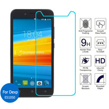 2Pcs/lot For Dexp Ixion Es1050 5.0 inch Front Tempered Glass Screen Protector 2.5D 9H Safety Protective Glass On Es 1050(China)