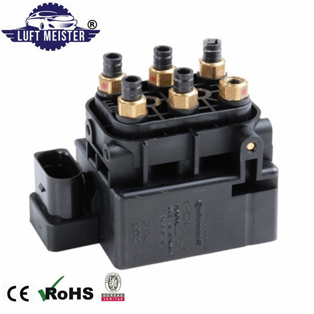 95835890300 Free Shipping Air Suspension Compressor Pump Solenoid Valve Block for Porsche Cayenne / VW Touareg|Shock Absorber& Struts| |  - title=