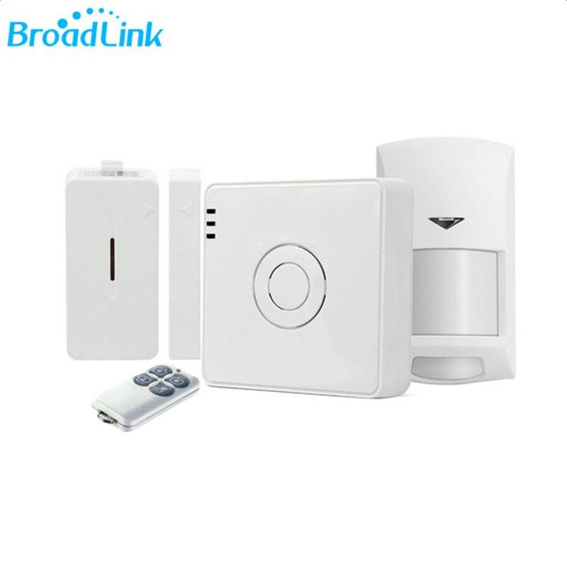 Newest BroadLink S2 Smart Home Alarm Security Kit Detector Sensor Remote Control System For Home Automation via smart phone dorothy s home