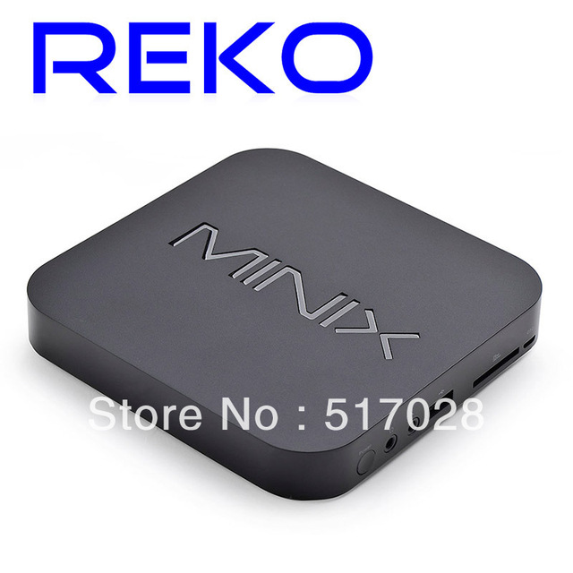 Hot product! HDMI RJ45 Quad GPU 1.4GHz Dual Core Bluetooth Android  4.2 1GB Memory+16GB HDD Smart IPTV  BOX/Stick NEO MINIX X5