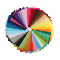 40 Pcs Set Handmade Fabric DIY Felt Fabric Polyester Colorful Non Woven Felt Floor Cloth 30