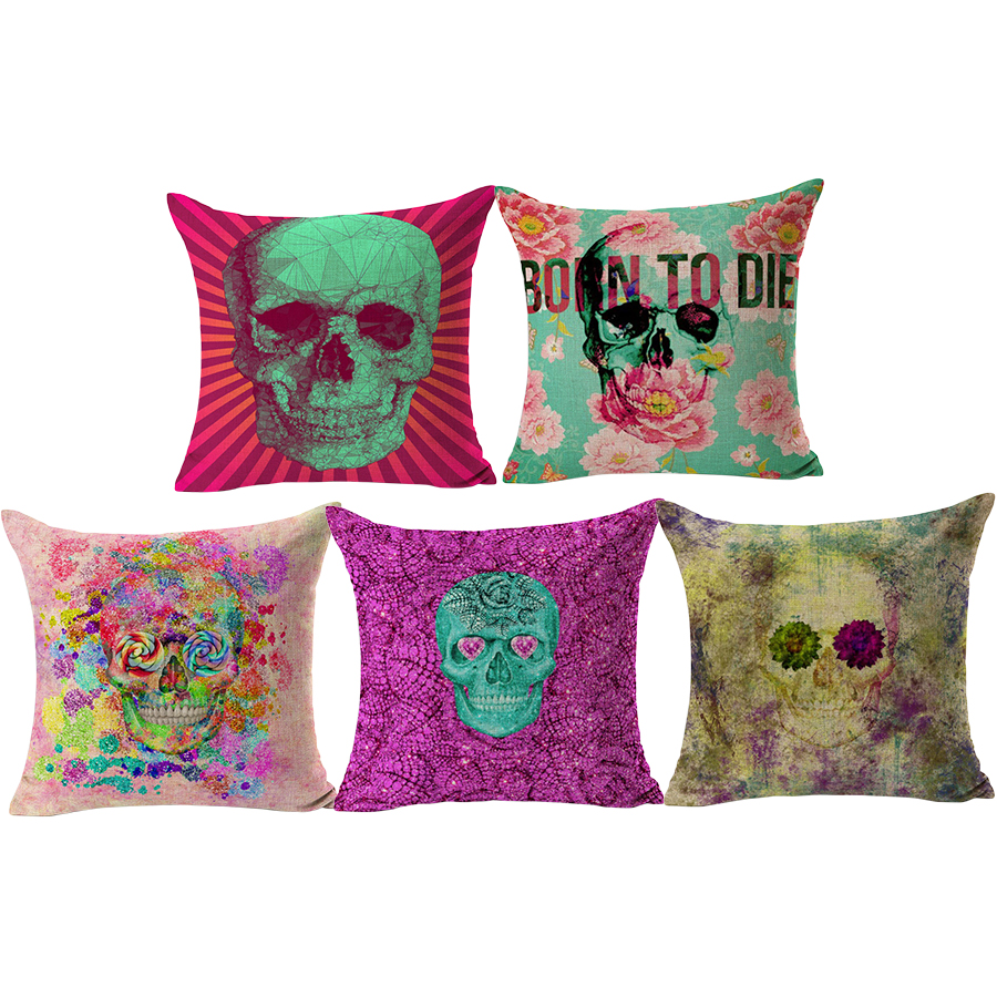 popular cool sofa pillowsbuy cheap cool sofa pillows lots from  - rubihome wholesale(pieceslot) lovely cool skull design decorative throwpillow cushion cover