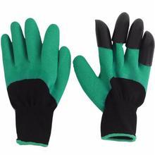Садовые Перчатки посадки перчатки для копания с лапами защитные ладони перчатки садовые перчатки