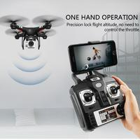360 Degree 170 Wide Angle Lens Sh5hd Drones With Camera Hd Quadcopter RC Drone WiFi FPV