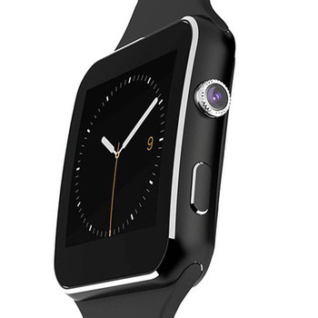 Bluetooth Smart Watch Sport Passometer Smartwatch X6 with Camera Support SIM Card Whatsapp Facebook for Android Phone