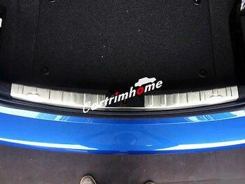 ВНУТРЕННИЙ Задний бампер протектор порога пластина крышка 1 шт. для BMW 3 серии F30 2012-2016