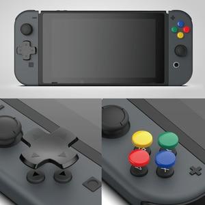 Image 2 - Kit de botões 10 em 1 para nintendo switch, botão analógico de controle de videogame e capa d pad para nintendos switch acessórios ns joycon