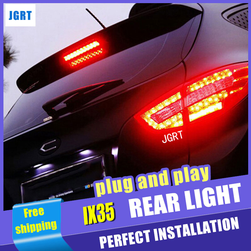 Car Styling LED Tail Lamp for Hyundai IX35 tail lights 2012 Tuscon LED Tail Light rear trunk lamp led drl+signal+brake+reverse [ free shipping ] brand new led rear light led back light benz style tail lamp for hyundai elantra 2012