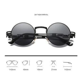 Steampunk Metal Vintage Sunglasses 4
