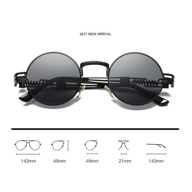 Steampunk  Men Sunglasses