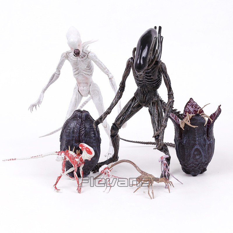 NECA Alien Covenant Xenomorph Neomorph Creature Pack PVC Action Figure Collectible Model Toy neca alien lambert compression suit aliens defiance xenomorph warrior alien pvc action figure collectible model toy 18cm