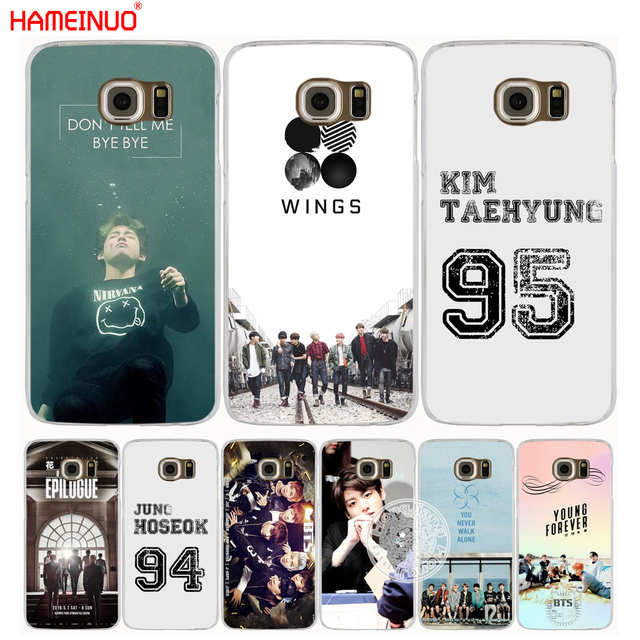 newest collection 5be33 8d3ea US $2.92 |HAMEINUO bts bangtan boys V Kim Tae Hyung cell phone case cover  for Samsung Galaxy S7 edge PLUS S8 S6 S5 S4 S3 MINI-in Half-wrapped Case ...