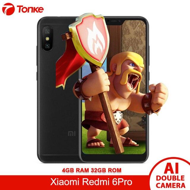 "Original Firmware Global OTA Xiaomi Redmi 6 Pro 4G RAM 32 GB ROM 5,84 ""Pantalla Snapdragon 625 Octa Core AI cámaras Dual 4000 mAh"