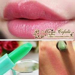 Heterochrosis fruity lipstick lip balm superacids waterproof rose