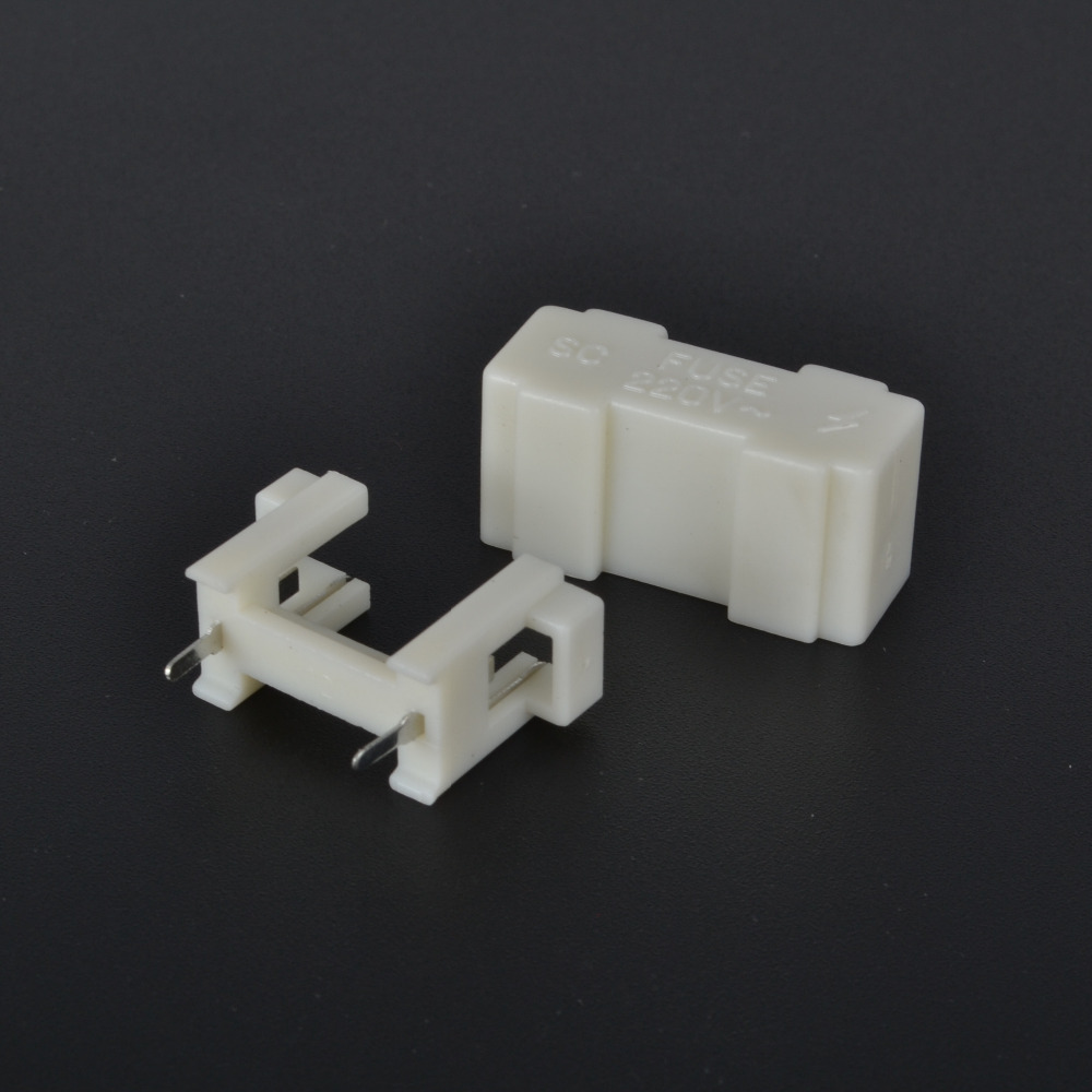 5set 5*20mm M205 soldering fuse holder 15MM fuse box wire plate white lid  soldering pin pitch-in Fuses from Home Improvement on Aliexpress.com |  Alibaba ...