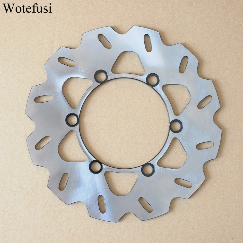 Motorcycle New Wotefusi One Piece Rear Brake Rotor Disc For Kawasaki KDX 125 1990-1994 1991 1992 1993 KDX 200 250 KLX [PA408] обучающие мультфильмы для детей где