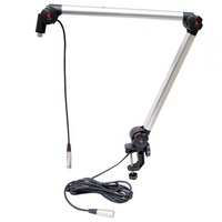 Alctron MA614 Microphone stand luxury professional broadcast outrigger bracket gimbals Suspension Boom Scissor Arm Stand Holder