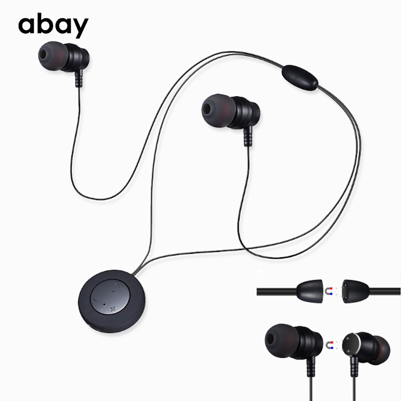 Bluetooth wireless Hifi super Bass Earphone with Mic true bluetooth headphones Headset Stereo Earbuds Magnetic for Moblie phone zomoea bass earphone earbuds running stereo sport bluetooth headset wireless headphones for iphone android with microphone