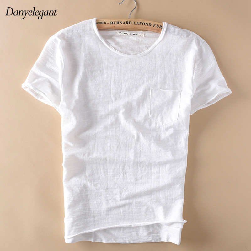 Popular Plain White Cotton T Shirt-Buy Cheap Plain White Cotton T ...