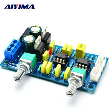 AIYIMA Amplifiers Audio Amplificador Pre-amp Board Fever Filter Front Board Subwoofer Tone Plate HI-FI Low-pass Circuit