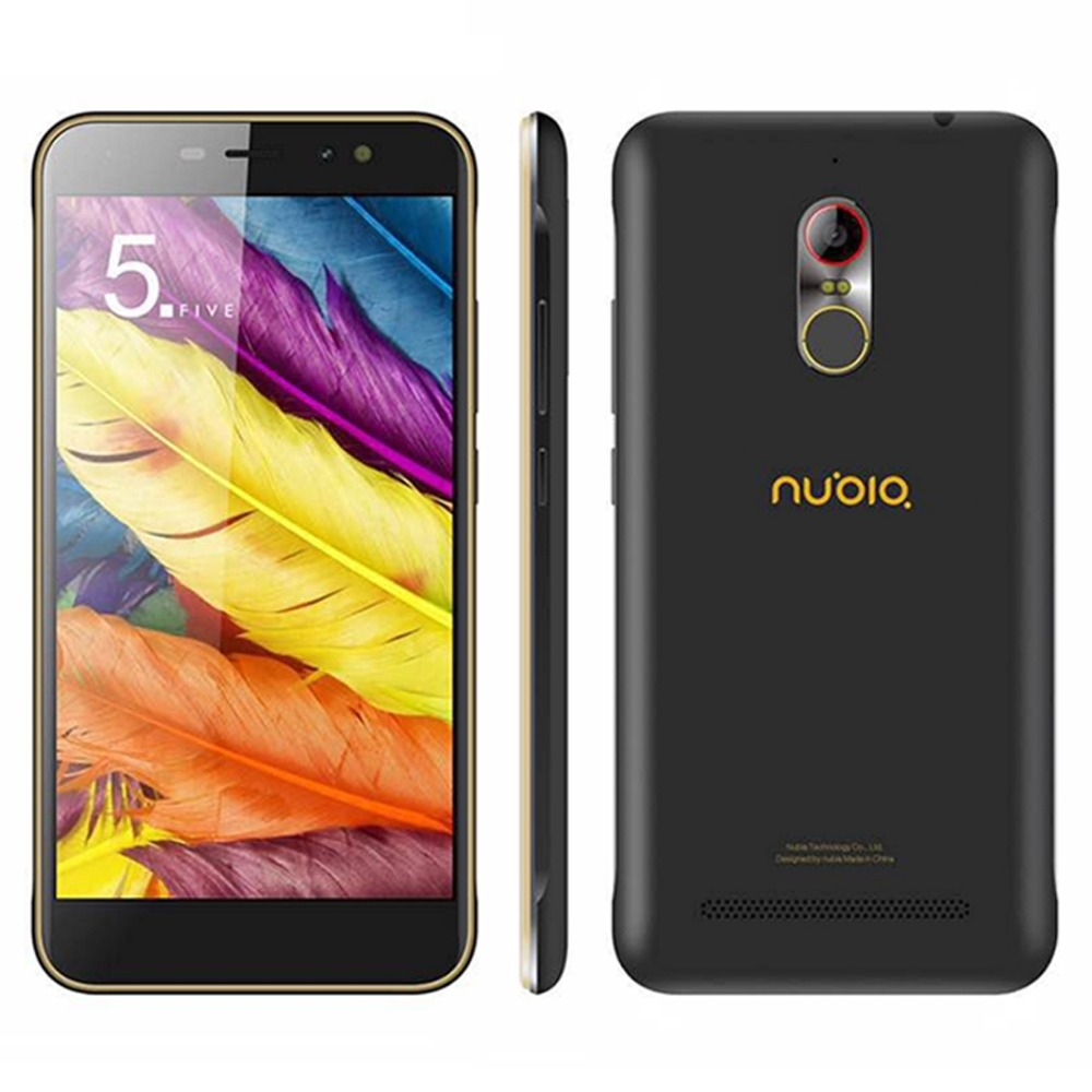 ZTE Nubia N1 Lite NX597J 5.5 inch Android 6.0 SmartPhone Quad Core 1.5GHz ROM 16GB RAM 2GB 8.0MP Camera OTG Fingerprint