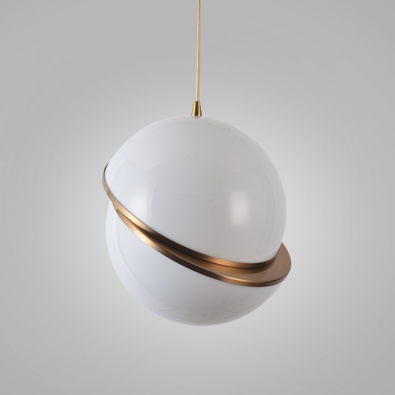 Art Decor Creative Global Pendant Light Milk White Ball Hanging Lamp Bar Restaurant Cafe Saloon Decoration Lighting Fixture hot sale ball pendant light fixture small black or white pendant lamp lighting hanging restaurant lamp free shipping