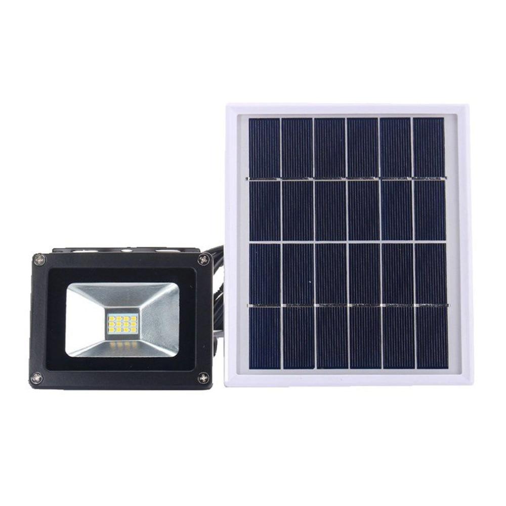 где купить High Power LED Solar Lamp Sensor Light Outdoor Waterproof Wall Lamp Security Spot Lighting 3W IP65 Light-Control Flood Lamps New дешево