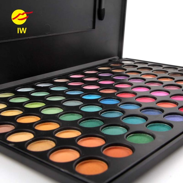 Miss Rose Brand New Pro Sexy 3D 55 Colors Eyeshadow Palette Matte Shimmer Eye Shadow Powder Makeup Cosmetics Set Maquiagem