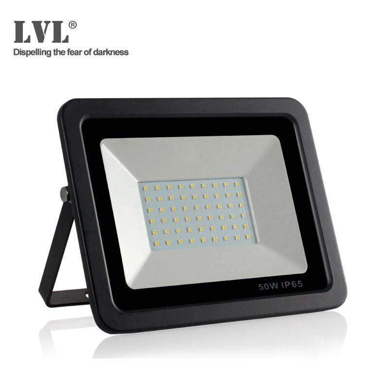 1pc 30w 50w Ultrathin Led Floodlight Waterproof Ip65 Outdoor Spot Light Lamp Latest Technology Lights & Lighting Outdoor Lighting