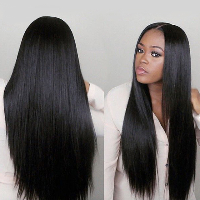 Hot Beauty Hair Peruvian Virgin Hair Straight 3pcs Lot Silky