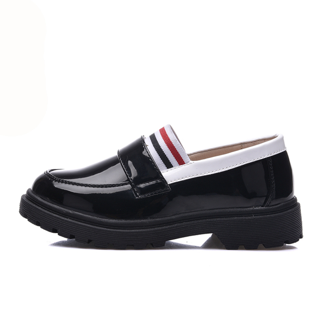 2017 new fashion children shoes PU leather shoes hot-selling for boys & girls single  boat shoes kids oxford shoes