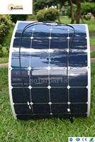 Boguang 100 W 18 V carga painel solar 12 v bateria de célula qualidade flexível superfície lisa para carros de viagem Ao Ar Livre barco kit