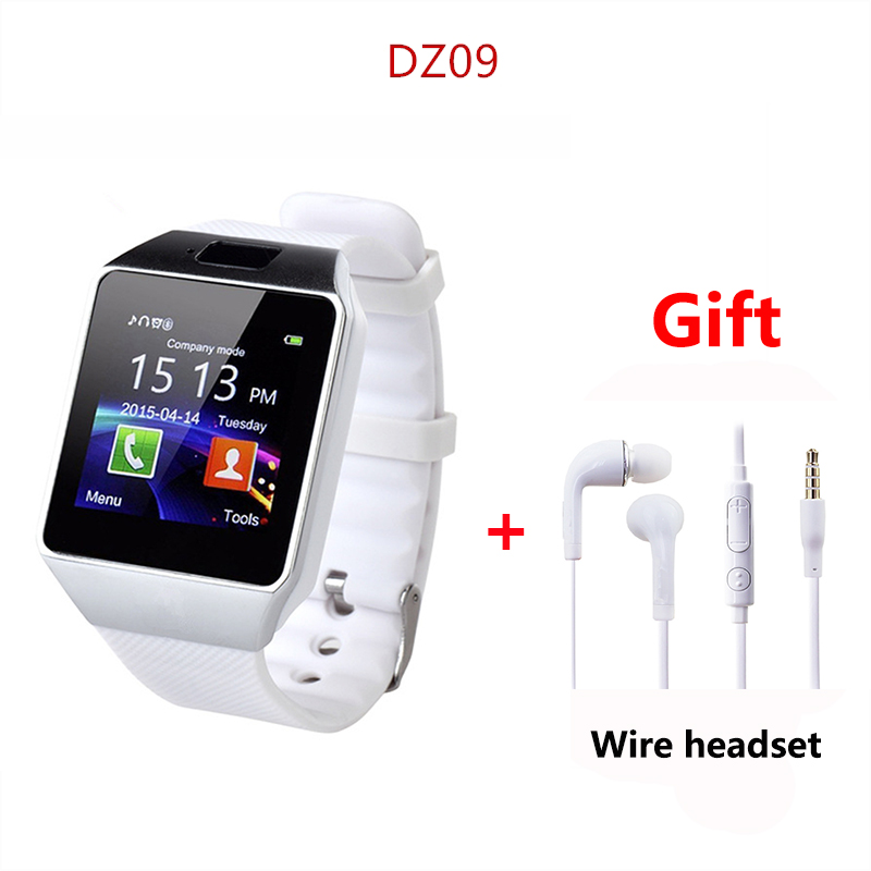 DZ09 Smartwatch Smart Watch Digital Men Watch For Apple iPhone Samsung Android Mobile Phone Bluetooth SIM TF Card PK GT08 A1