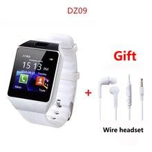 DZ09 Smartwatch Смарт часы электронные мужские часы для Apple iPhone samsung Android мобильного телефона Bluetooth sim-карта TF PK GT08 A1