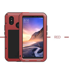 LOVE MEI Metal Waterproof Case For Xiaomi Mi Max 2 3 Max2 Max3 Shockproof Cover For Xiaomi Max 3 2 Mi Mix 2 2S Mix2 cover capa bsnovt for xiaomi mi mix 2s case xiaomi mimix 2s cover soft silicone tpu leather shockproof phone case for xiaomi mi mix 2s